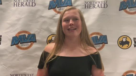 Marengo's Hannah Ritter was named Northwest Herald Female Athlete of the Year.