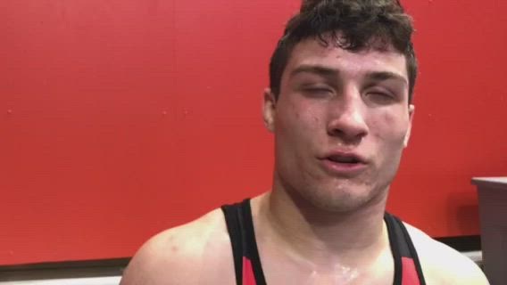 Ferrante becomes Huntley's first wrestler to reach a state title match.