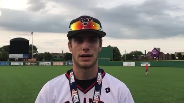 Petryniec talks about the ‪Class 4A Baseball State Tournament championship.