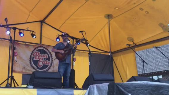 Oswego closed out August on Main Street, Saturday, Aug. 31, with the final Beats & Eats festival of the year, featuring Edward David Anderson and other artists.