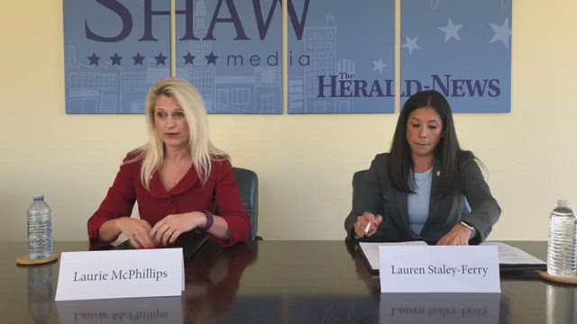 We're hosted a live debate between Republican Will County Clerk Candidate Laurie McPhillips and Democratic Candidate Lauren Staley-Ferry.