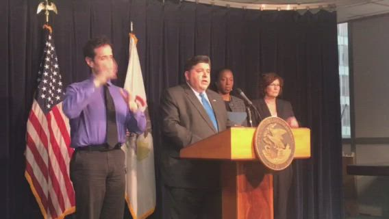 Pritzker announces six additional cases of COVID-19 in Illinois, bringing the state's total to 25 confirmed cases.