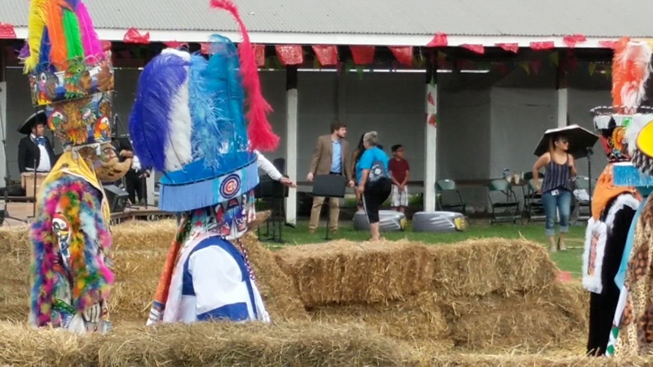 Traditional Mexican costumed dancers performed July 28, 2018, at the DuPage County Fair in Wheaton.