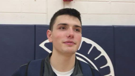 Frericks talks about the Trojans' win over Larkin in the Class 4A C-G Regional.