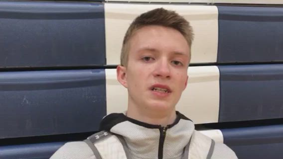 Pennel talks about the Golden Eagles' performance in their loss to Cary-Grove.