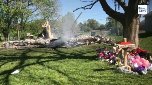 The home where Sema'j Crosby was found dead was burned down to the ground