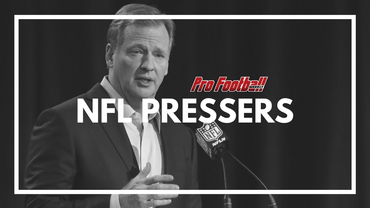At the Annual League Meeting in Orlando on Wednesday, the Commissioner of the NFL Roger Goodell talked about the ownership discussions regarding the national anthem policy.