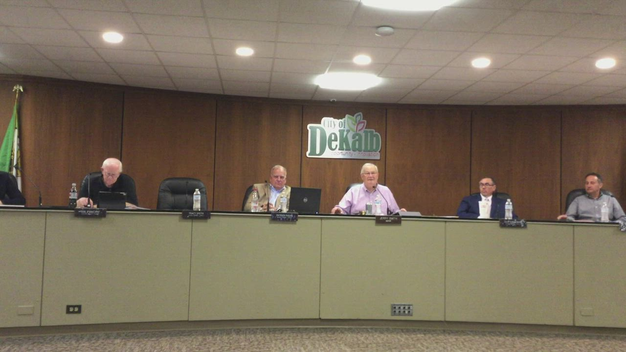 The DeKalb City Council voted 5-2 (with Ward 1 Ald. Carolyn Morris and Ward 5 Ald. Scott McAdams voting no) to approve the amended ordinance relating to the City Clerk's office on first reading only. A second reading approval would require 6 yes votes and Ward 3 Ald. Tracy Smith was absent. The matter will come for a final vote the first council meeting in October.
