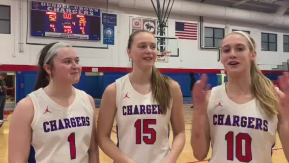 The Chargers defeated Cary-Grove, 52-26, for their first regional title in three years.