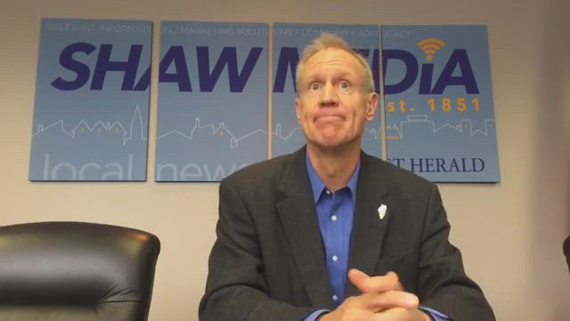 Illinois Governor Bruce Rauner talks about the issues in this election