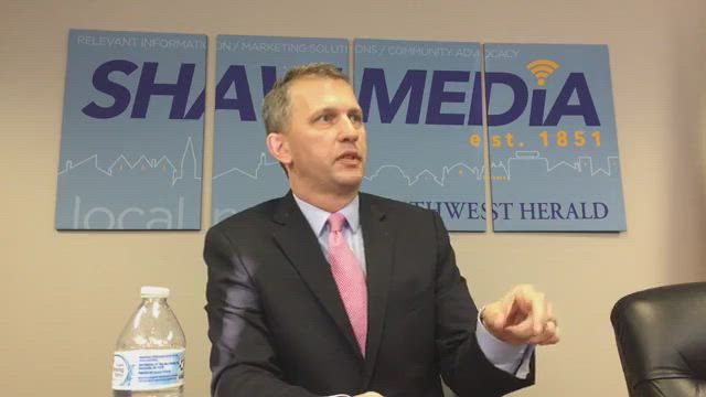Sean Casten, 6th Congressional District candidate, meets with our editorial board to discuss this issues in this election