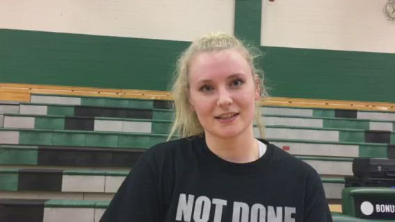 Otto talks about Prairie Ridge's 25-13, 25-19 Class 4A Grayslake Central Sectional final win over Crystal Lake Central.