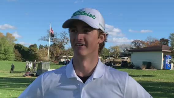Stewart won medalist honors at the Class 2A Freeport Sectional, shooting even par.
