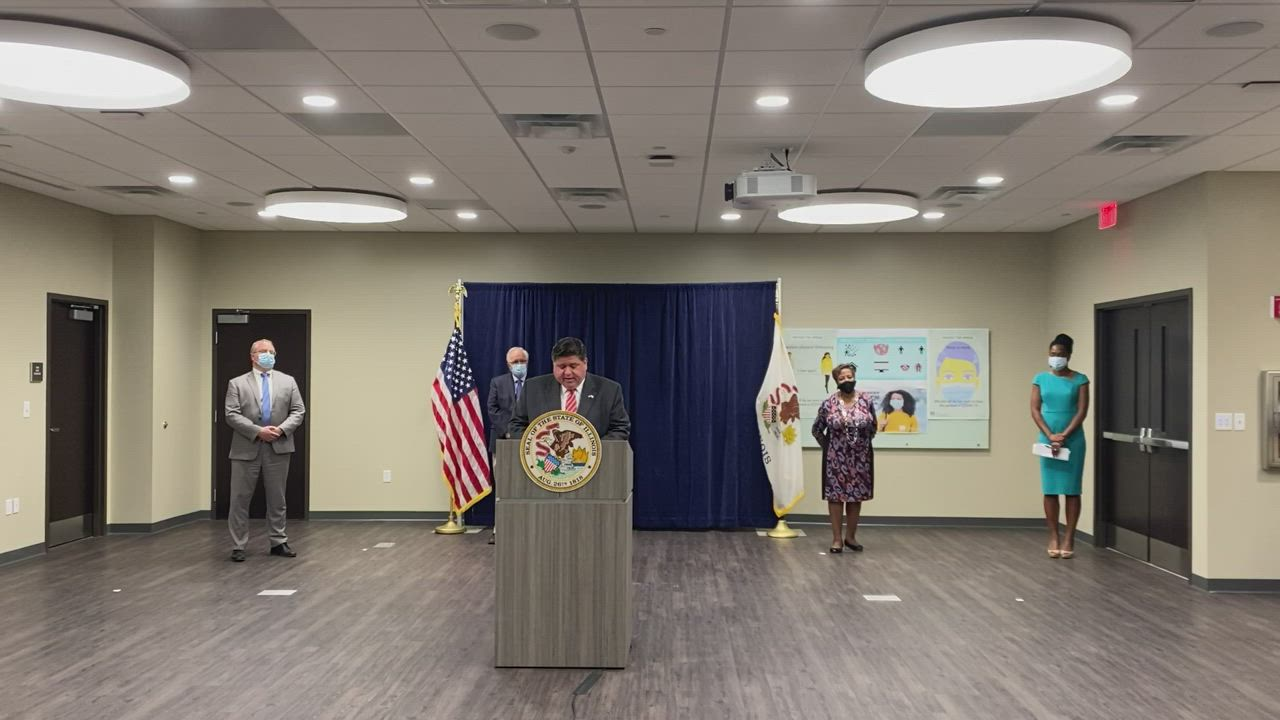 Gov. Pritzker announces Will County COVID-19 restrictions
