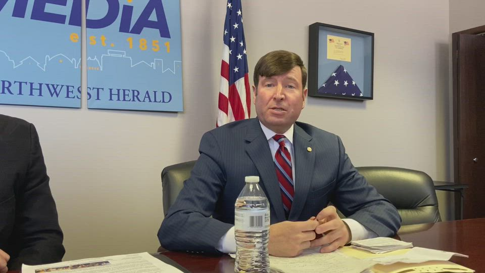 Six of the candidates on the Republican side of the IL-14 Congressional race met with the Northwest Herald's Editorial Board. Jim Oberweis, Sue Rezin, Catalina Lauf, James Marter, Jerry Evans and Anthony Catella attended the interviews. Ted Gradel's team said the candidate was unavailable.