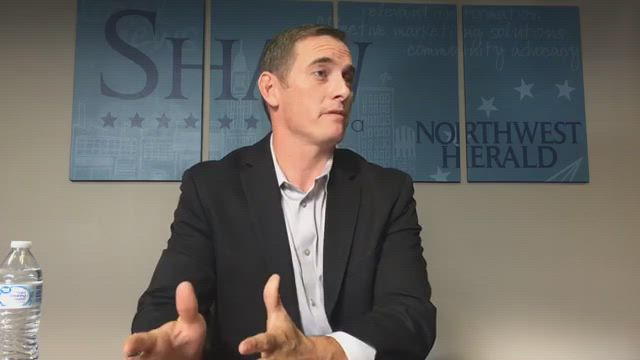Kash Jackson, candidate for Illinois Governor, talks about the issues in this election