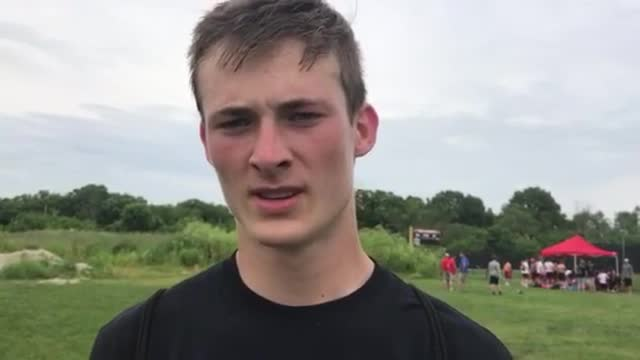 Whiteside talks about the Red Raiders' 4-1 day at Wheaton-Warrenville South's Red Grange Classic 7-on-7.