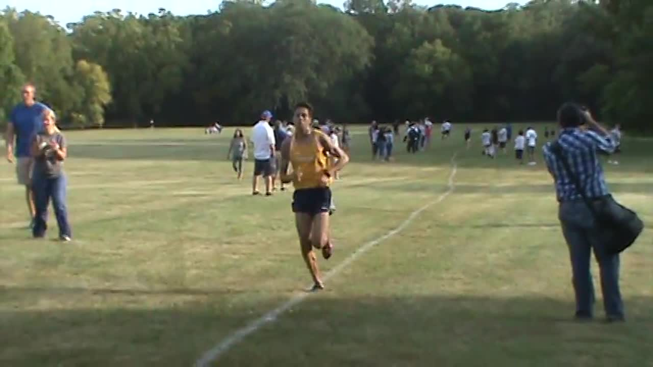Sterling's Jake Gebhardt beats out Rock Falls' Dawson Smith for the Twin City Meet championship