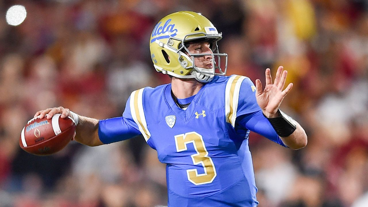 UCLA QB Josh Rosen had 11 300-yard games and seven 400-yard contests in 30 college games, and only threw for fewer than 200 yards in one game that he started and finished. Rosen shares why he feels he'll be a good fit in the NFL.