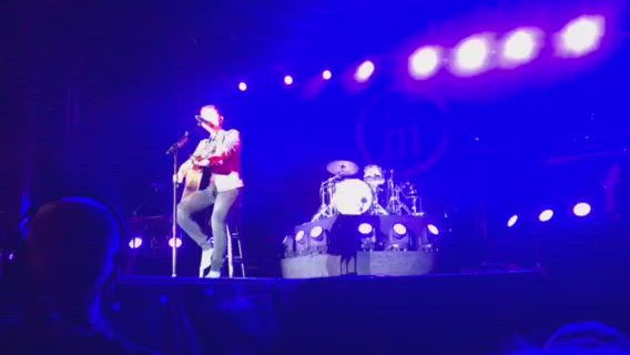 Country star Scotty McCreery entertained through the night on the Main Stage at the Sandwich Fair, Friday, Sept. 6.