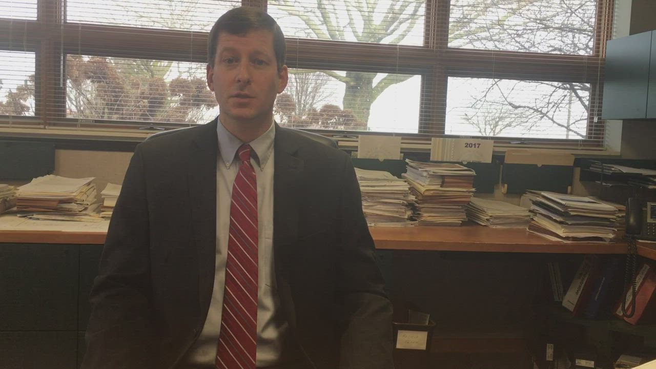 Nathan Schwartz, county engineer for the DeKalb County Highway Department, outlines what a potential increase in the state's motor fuel tax rate would mean for localities.