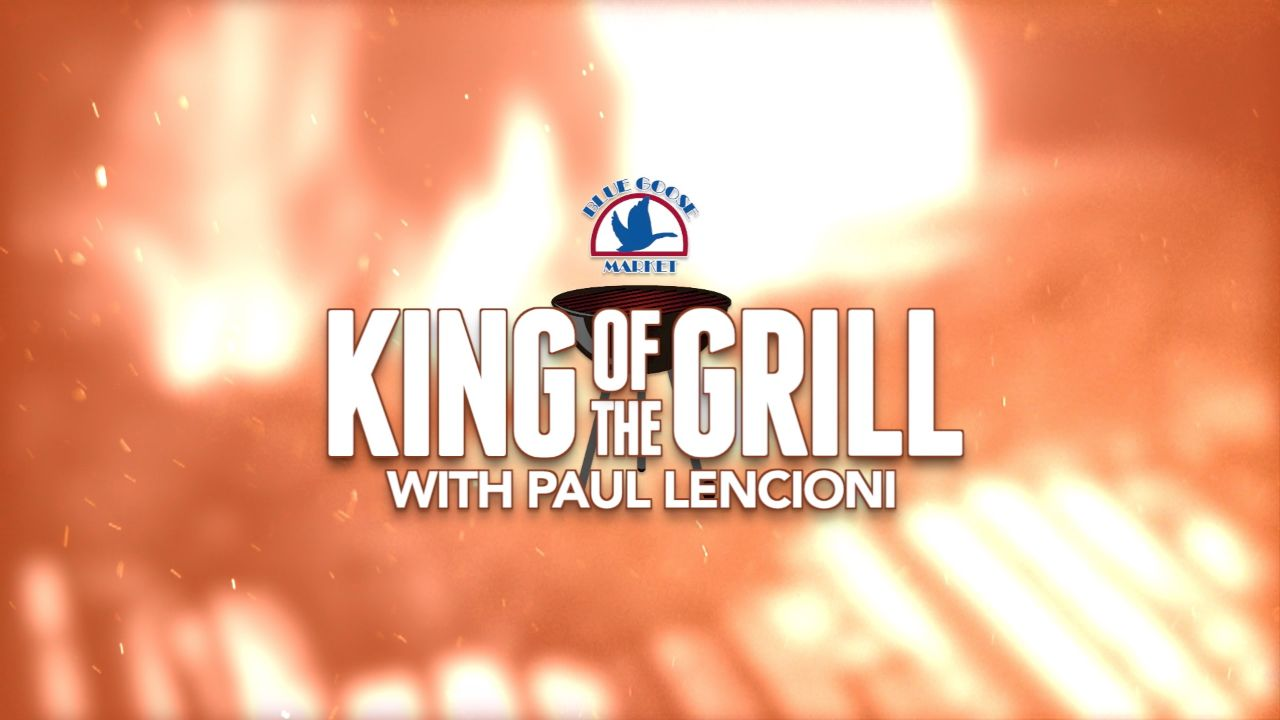 """Blue Goose's Paul Lencioni explains """"reverse searing"""", a cooking technique in which instead of searing a raw steak on a hot grill and then continuing to cook it to the perfect internal temperature, you cook the steak at a very low temperature until the center is about 20 degrees cooler than you want the end product to be. Then, you put the steak on a screaming hot part of the grill and sear both sides for just a minute or two. This technique, which is becoming more popular, is a great way to enjoy a thick piece of meat, or fish. For more information, please visit www.bluegoosemarket.com"""