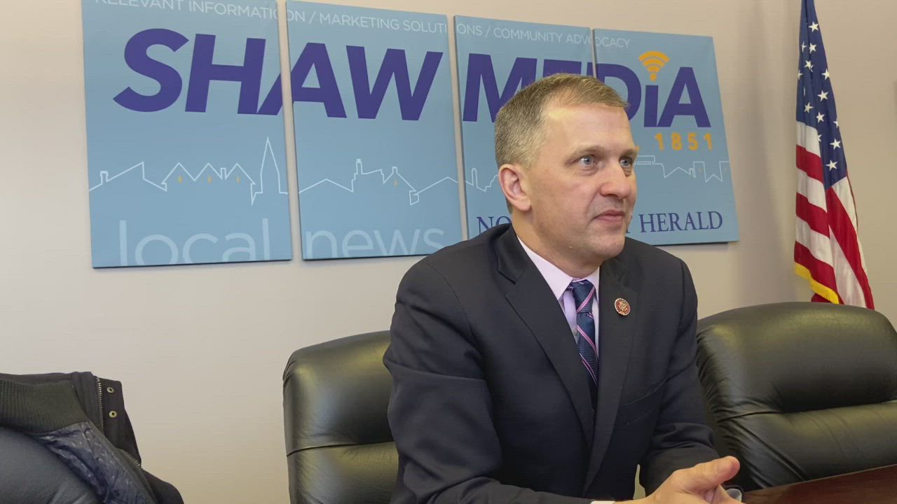 U.S. Rep. Sean Casten, IL-6, meets Thursday with the Northwest Herald's Editorial Board.