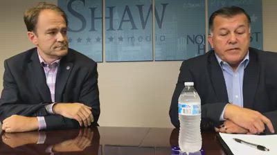 State Senate District 26 candidates Dan McConchie and Tom Georges speak with the Northwest Herald Editorial Board.