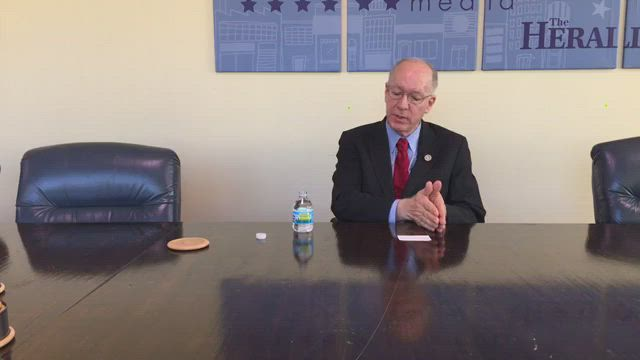 Bill Foster, 11th Congressional District Representative, talks about the issues in the upcoming election
