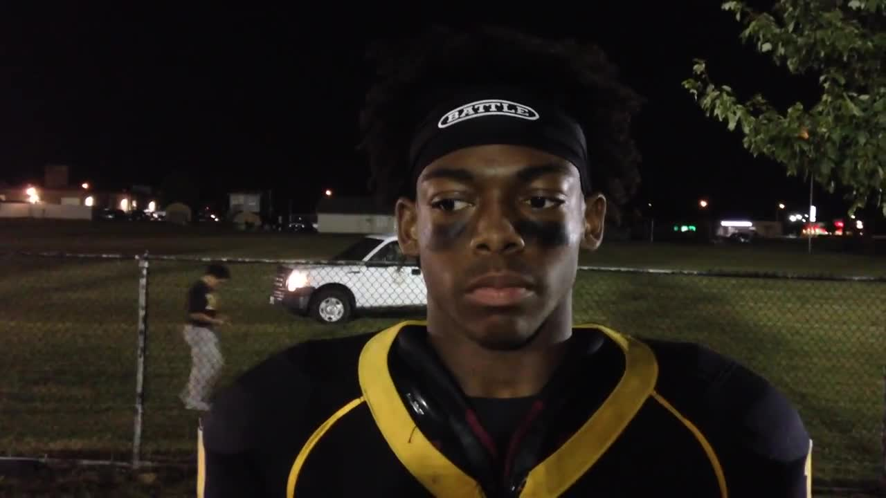 Tigers' Kevon Dorris talks about final drive and big win over Plainfield Central.