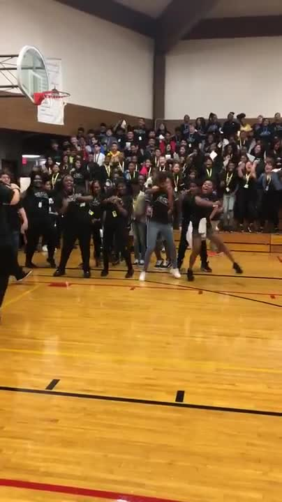 Dirksen Junior High School recently adopted a House System based on the one used at The Ron Clark Academy in Georgia. Here the Ubuntu House doing a cheer/dance at the first House event at Dirksen Junior High School in Joliet. Video courtesy of Joliet Public Schools District 86.