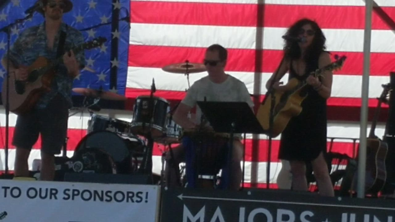 "The Frizz performs The Black Keys' song ""Lonely Boy"" on Aug. 10, 2019, as part of the third annual Highway Life Music Festival. Proceeds from the event went to the nonprofit organization HorsePower Therapeutic Riding in Maple Park."