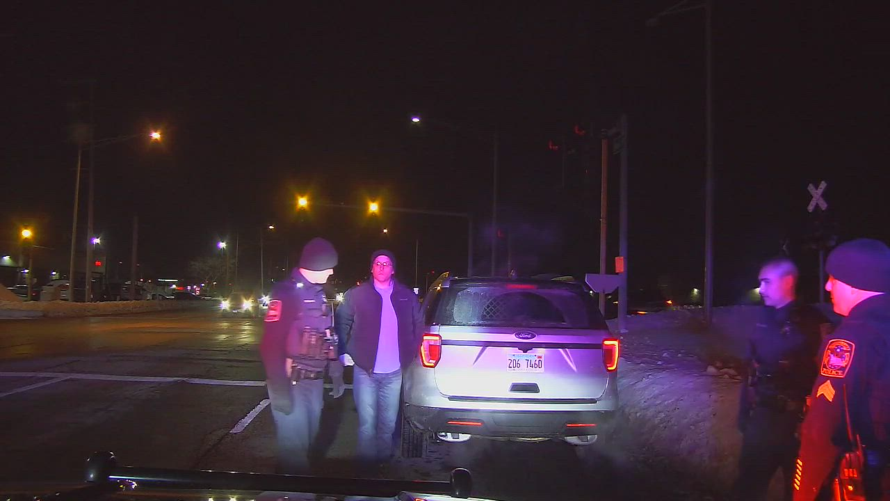 The Northwest Herald obtained dashcam video of an Illinois State Police trooper charged with DUI by Crystal Lake police