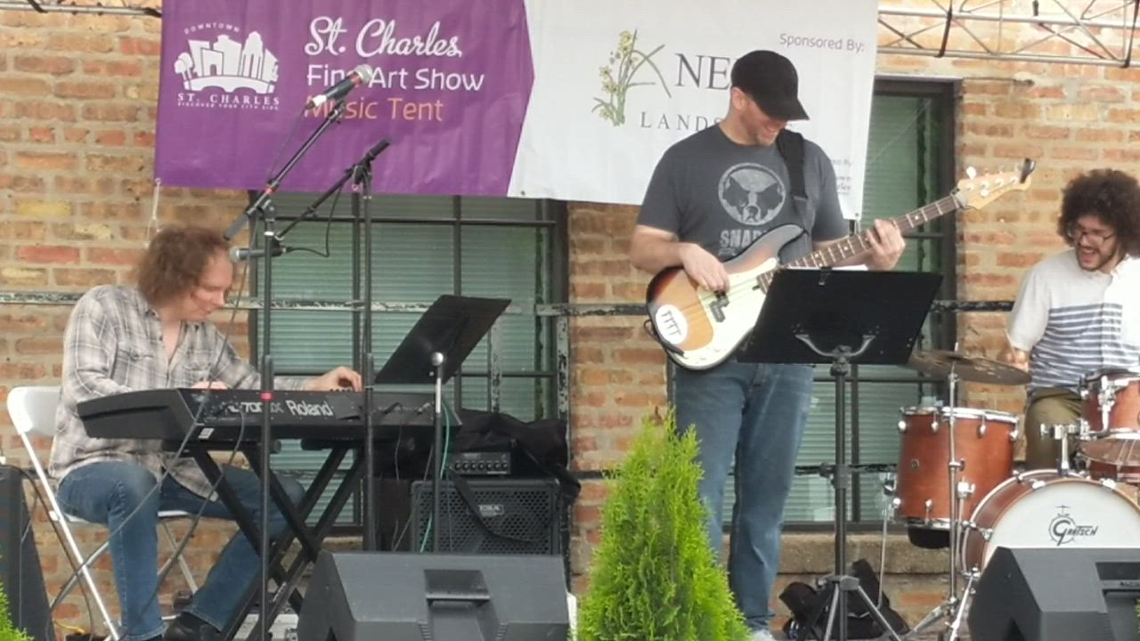 Covington Groove performed May 25 at the St. Charles Fine Art Show in downtown St. Charles.