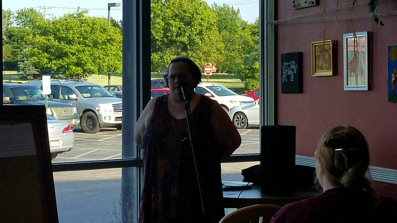 This was the second event in a series of live storytelling. On May 24, Therese Gunderson of Joliet shared a true story about why her life was out of balance.
