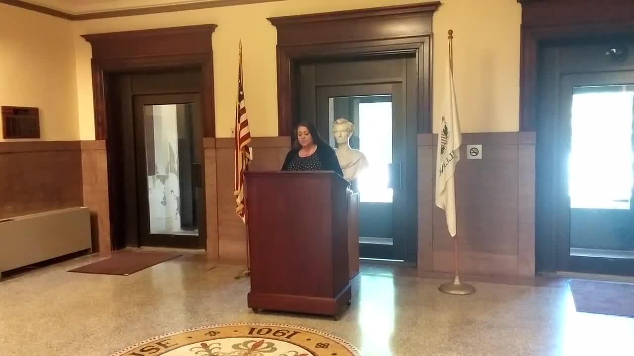 Chief Deputy Treasurer Melissa Lawrence, who has worked in the Lee County Treasurer's Office for 13 years, announced she will be running for treasurer on Monday, Sept. 11, 2017.