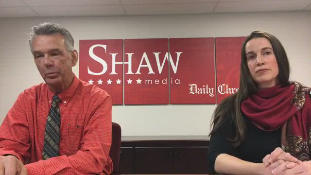 DeKalb County Clerk candidates Doug Johnson and Carolyn Beth Morris speak with our Editorial Board in DeKalb
