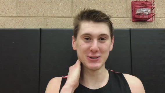 Sroka scored 19 points and Huntley defeated Jefferson for its first regional since 2013-14.