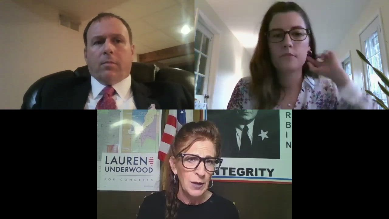 Republican incumbent DeKalb County State's Attorney Rick Amato and Democratic candidate Anna Wilhelmi joined Daily Chronicle editor Kelsey Rettke for a detailed discussion of the issues in the race for DeKalb County State's Attorney.