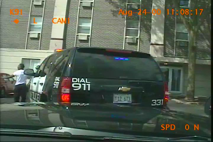 Dashcam footage from the DeKalb County Sheriff's office