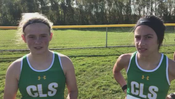 Gonzalez was first and Aldridge second in the FVC Girls Meet.