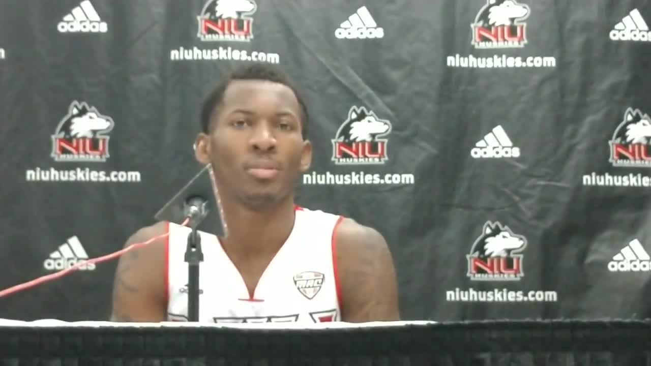 NIU duo talk about hanging on for win against Central Connecticut State