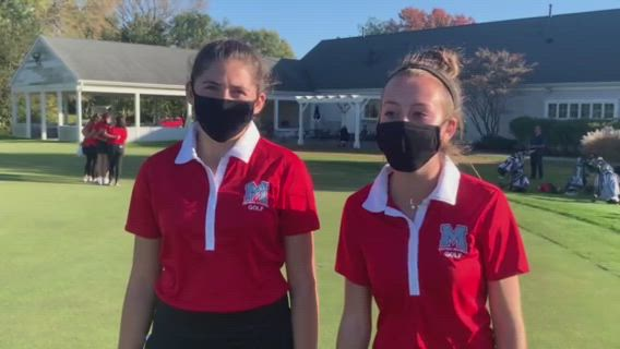 Notaro and McNulty helped lead the Hurricanes to second place at the Class 1A Johnsburg Regional.