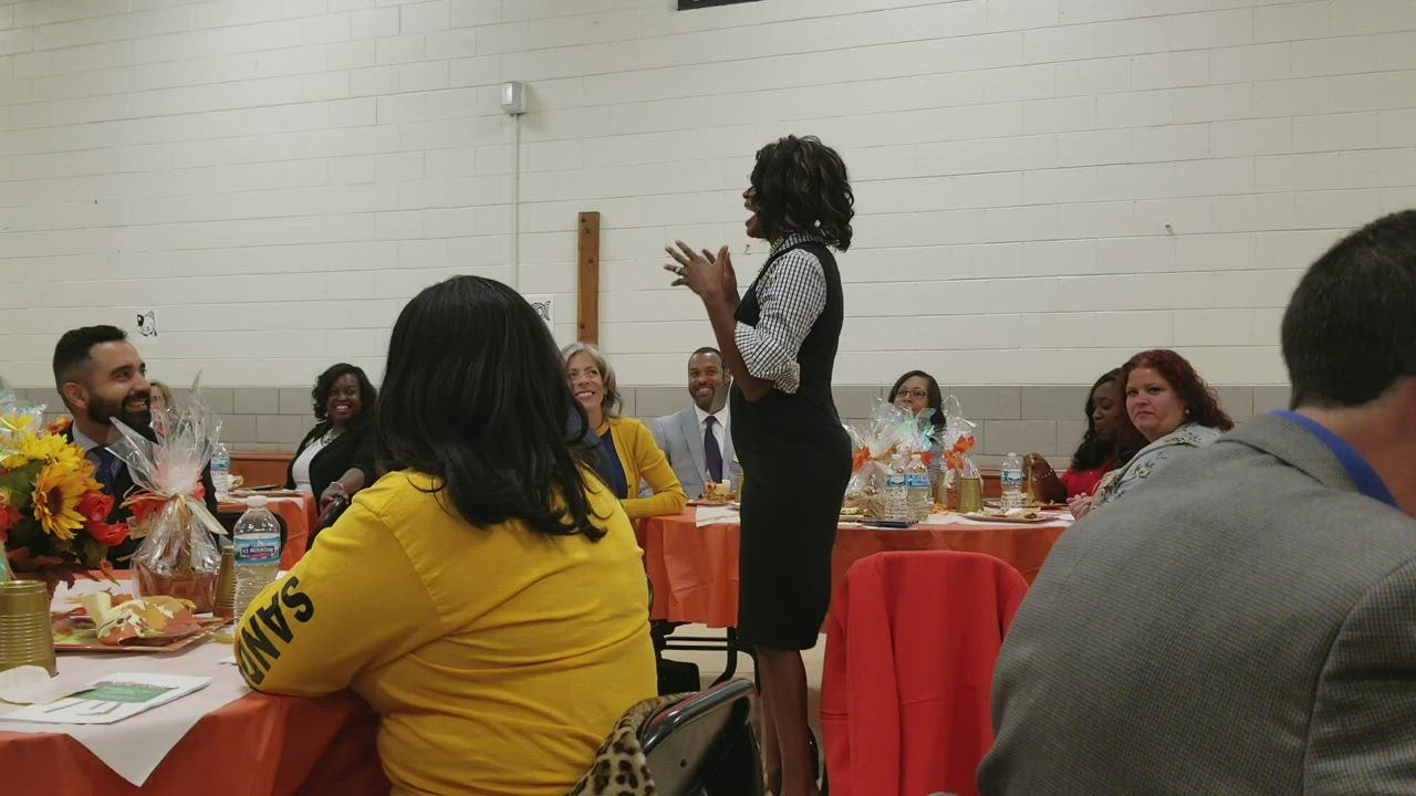 Carmen Carter of Carter Realty Group describes the type of leadership she witnessed as Principal for a Day at Joliet Public Schools District 86.