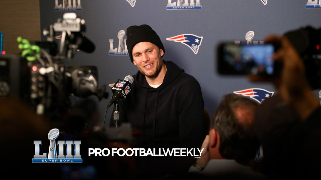 Hear from some of the players on the New England roster as they met with the media this week ahead of Super Bowl LIII.