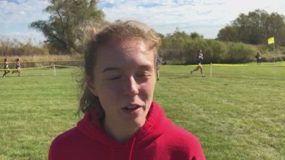 Wilk talks about the Red Raiders winning the FVC Meet.
