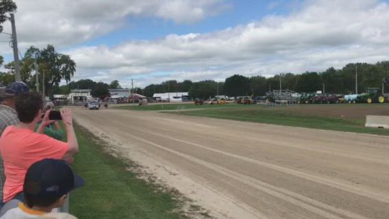 Harness racing returned to the Sandwich Fair, Wednesday, Sept. 4, as the fair opened for the season.