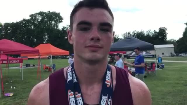 Schirmer took a third (200) and two fourths (110HH, 100) in 2A at the ‪IHSA Boys T&F State Meet.