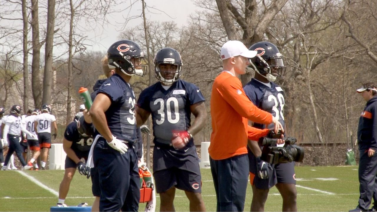 The Chicago Bears rookie class took to the practice field on Friday as the club began their rookie minicamp through the weekend. While the 2019 draft class got to show off a little for the media, the buzz surrounded the eight placekickers which were brought in to address the Bears' problematic kicking situation. Hub Arkush and Arthur Arkush report from Halas Hall.  NFL content can also be viewed at NFL.com and ChicagoBears.com