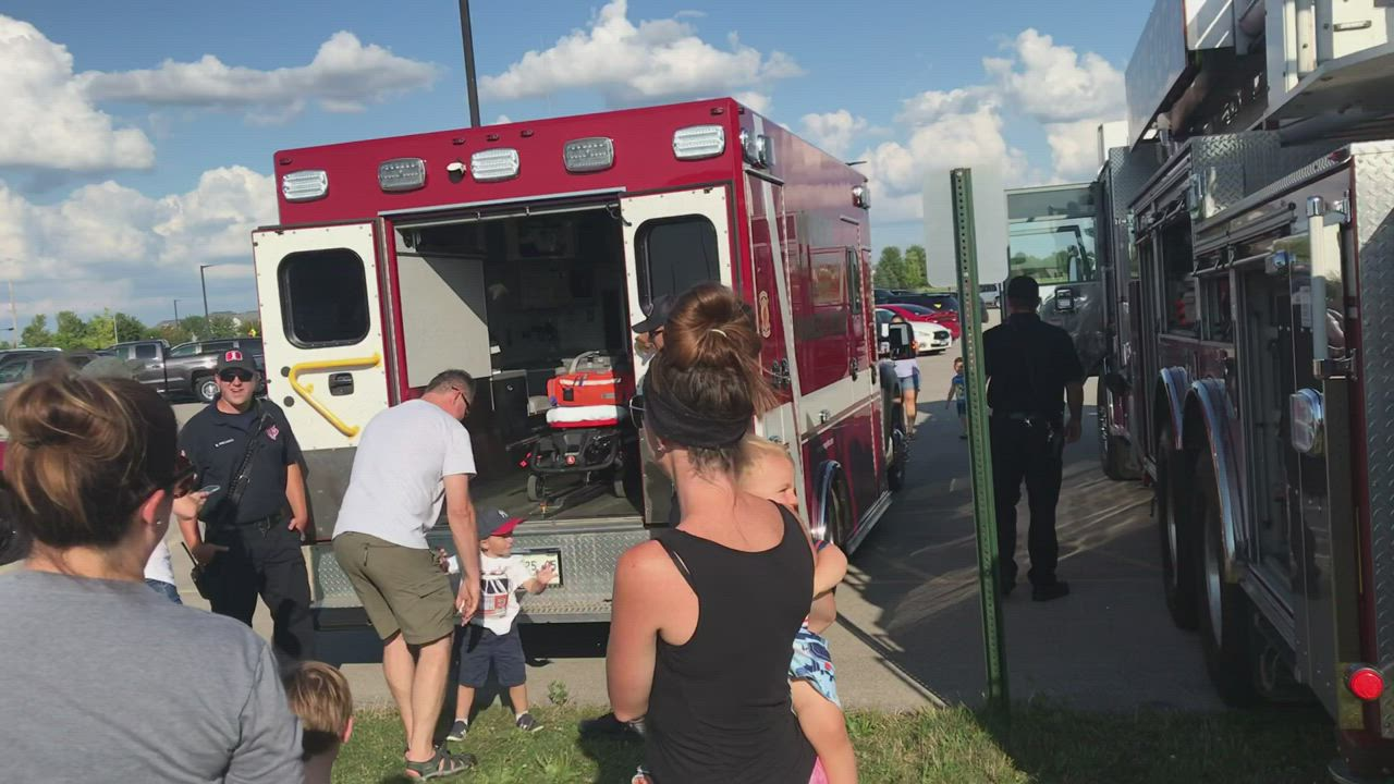 Oswego celebrated National Night Out at Prairie Point Park, on Tuesday, Aug. 6.